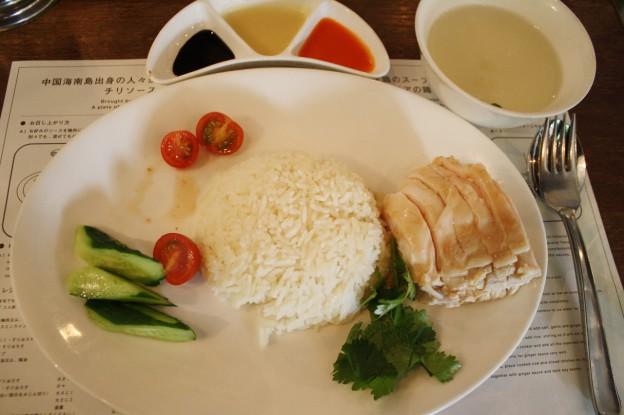 海南鶏飯食堂のチキンライス
